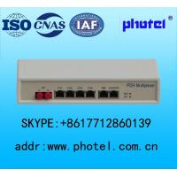 Best Desktop PDH converter Fiber point to point  network 4E1/8E1+4ETH+2NMS ports wholesale