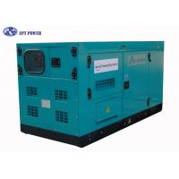 China Super Silent Diesel Generator with Nissan Diesel Engine Output at 75kVA , 65dBA on sale