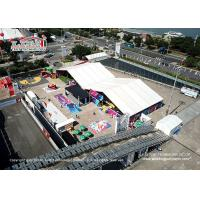 China Waterproof Fire Retardant Outdoor Exhibition Tents For Canton Fair on sale