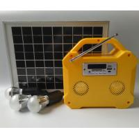 Best Camping Small Solar Panel Light Kit Off Grid Solar Power Systems LED Screen wholesale