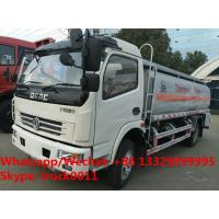 Best Customized CLW brand dongfeng 7cbm oil tank truck for sale, Factory sale cheaper new brand 8cbm fuel diesel tank truck wholesale