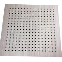 Best Interior Decoration MDF Board Wood Perforated Studio Room Acoustic Insulation Panel wholesale