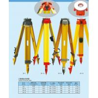 China Durable Wooden tripod for Total Station, Automatic Level, GPS with Red Color on sale