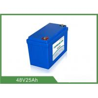Best 48V 25Ah Lithium Golf Cart Batteries Low Self - Discharge Rate wholesale