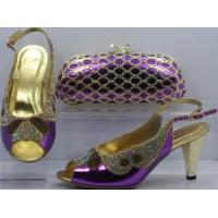 China Beatiful Women Shoes and Bag Set on sale
