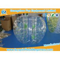 Best Customized Size Bubble Soccer Ball outdoor sport games Heat Sealed Technical wholesale