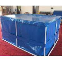 China EN14960 Rectangular Tarpaulin Fish Tank Portable Flexible With Cover on sale