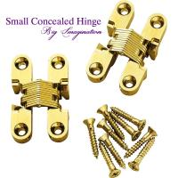 Best cupboard small concealed hinge SOSS Invisible Hinge Jewelry Box Hinge wholesale