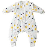 Buy cheap Comfortable Organic Cotton Baby Sleeping Bag Warm Thick Baby Blanket Pajamas from wholesalers