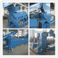Best Commercial Heavy Duty Washing Machine Electric Used To Recycle Waste PET Bottles wholesale