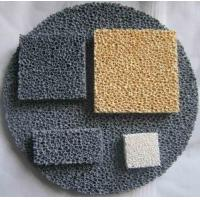 China Reduce Production Cost Ceramic Foam Filter Improve Casting Mechanical Properties on sale