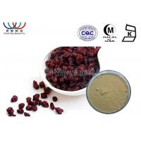 Best High Standard Pure Natural Plant Extracts , Brown Organic Schizandra Extract Powder wholesale