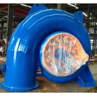 Best Stainless Steel Runner Horizontal Small Francis Turbine 100kW - 500kW wholesale
