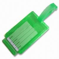 Best Luggage Tag, Made of Plastic, Available in Green wholesale
