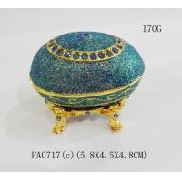 Cheap New Design Faberge Egg Jewelry Box for gift for sale