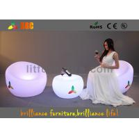 China Unbreakable LED Sofa chair , Remote control LED Lighting Furniture on sale