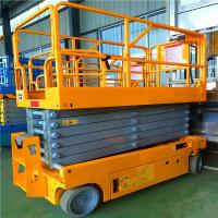Best 10m Portable Articulating Boom Lift Stable Performance For Aerial Working wholesale