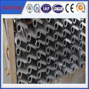 China Anodized aluminium square pipe fittings for hinge,aluminium heavy duty door hinge on sale