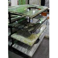 Best Multi Color Marble Stone Countertops , Marble Kitchen Worktops Polished / Honed Finishing wholesale