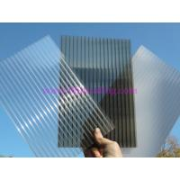 China Anti-drip 2 layer Hollow Polycarbonate Sheet 10 Years Guarantee on sale