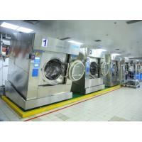 Best High Spin Commercial Laundry Equipment Automatic Rotary For Barrier Washing wholesale