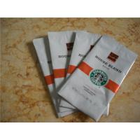 China 500gram Coffee Bean Plastic Packaging Pouch Gravure Printing wholesale