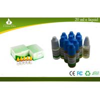 China Mint Refilling Electronic Cigarette Juice , E-cig Liquid Bottles on sale