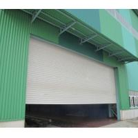 Best Sound And Insulated Aluminum PU Roller Shutter Garage Doors With Customized Color wholesale