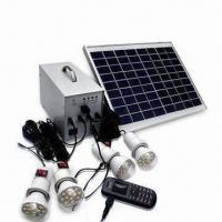 Best Solar Home Lighting System with Power Indicator and 9 to 12 Hours Charging Time wholesale