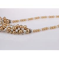 Best Single Strand Costume Pearl Necklace For Bridesmaids Custom Multicolor wholesale