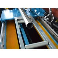 Best PLC Octagonal Pipe Rolling Shutter Profile Machine With Flying Saw Cutting wholesale