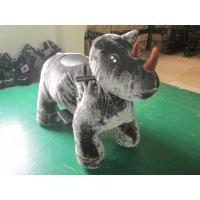 Best Sibo Rhino Animal Rider Games Walking Ride On Toy Petting Zoo For Birthday Parties wholesale