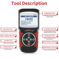 Best Multi - Language Car Scanner Diagnostic Live Data Code Reader Konnwei KW820 With STM32F103C8T6 Chip wholesale