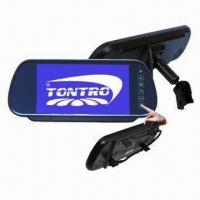 Best 7 HD Bluetooth Car Rearview Mirror Monitor, with Game Touch/MP5/USB/SD/FM, 2-way Video Inputs wholesale