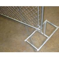 Cheap 50x50 Mm Mesh Construction Chain Link Fence Privacy Panels 2400 Mm Height for sale