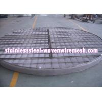 Best ROUND OR CUSTOMIZE Alloy Wire Meshmist Eliminator Filter Demister Pads With Frame Anti - Corrosion wholesale