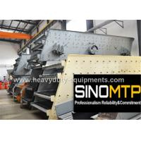 Best 970R / Min REV Stone Crusher Vibrating Screen With Long Flowing Line wholesale