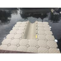 Best Plastic Jetty Modular Floating Dock System Easy Installing / Dismantling wholesale