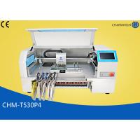 Buy cheap 4 Heads Charmhigh Desktop Pick And Place Machine 30pcs Yamaha Pneumatic Feeders product