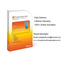 Best Genuine Sealed Microsoft Office 2010 Retail Box Home And Business Product Key Card wholesale