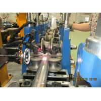 China Color Steel Sheet Round Downspout Machine 3.5Kw Gutter Roll Forming Machine on sale