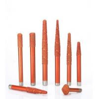 Best Multi - Layer Tungsten Carbide End Mill Brazing Diamond Stone Engraving Cutter Tools wholesale