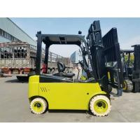 China 2 Stages / 3 Stages 4T Electric Forklift Truck Full AC Power With Side Shifter on sale