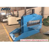 Best Color Customized Roofing Sheet Crimping Machine For Roofing / Trapezoidal Profile wholesale