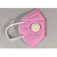 Best Sell Well New Type Disposable Kn95 Pink Dust Mask With Valve wholesale