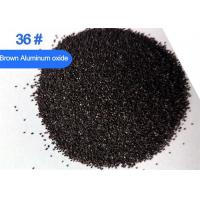 Best Brown aluminum oxide Al2O3 95% grade A blasting media for molds cleaning wholesale