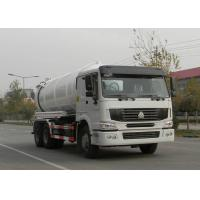 Low Fuel Consumption Sewer Cleaning Equipment Vacuum Pump Truck 6X4 Euro2 336HP