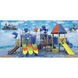 China Children's Dolphin Slide Water Playground Equipment Aquatic Playground Equipment on sale