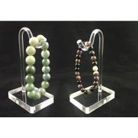 China Transparent Custom Acrylic Jewelry Display Stand For Bracelet Hang on sale