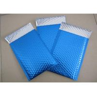 Best Customized Printing Metallic Bubble Mailing Envelopes Blue Color For Shipping wholesale